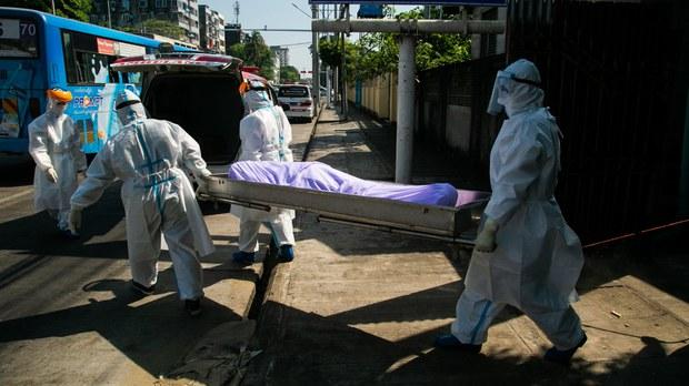 Myanmar Government Under Fire as Coronavirus Cases Top 90,000