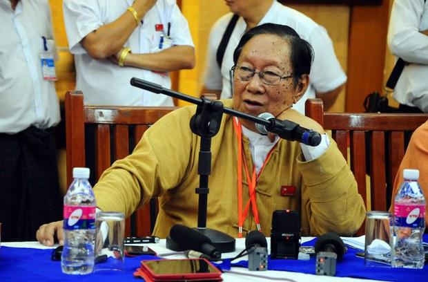 Veteran Myanmar Politician Nyan Win Dies in Detention of COVID-19