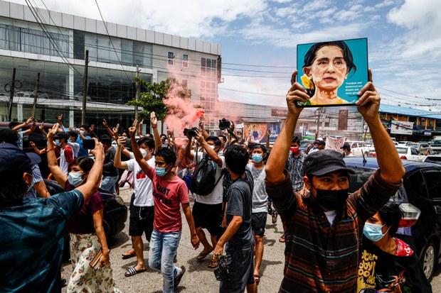 Myanmar's Junta Seen Moving to Dissolve NLD to Ensure Grip on Power