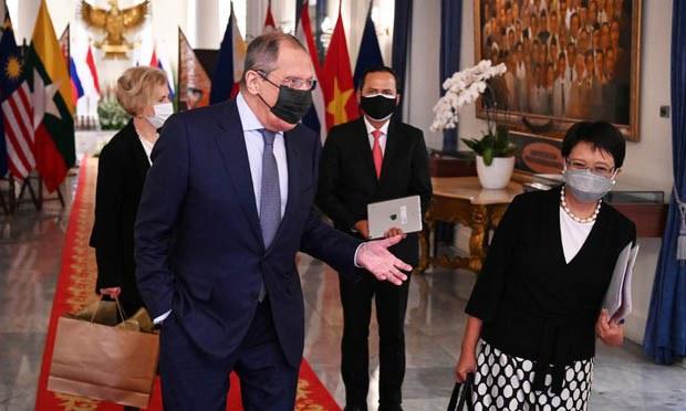 Russia Backs ASEAN's Myanmar Efforts, Criticizes US-led Quad in Veiled Jab