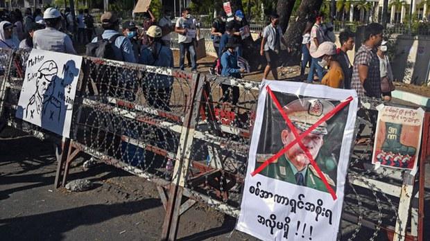 Myanmar Junta Arrests Target Election Officials Amid Growing Protests