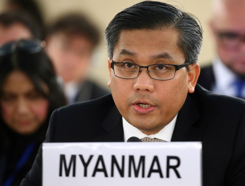 Myanmar's UN Envoy Skips Address Amid US-China Brokered Deal With Junta