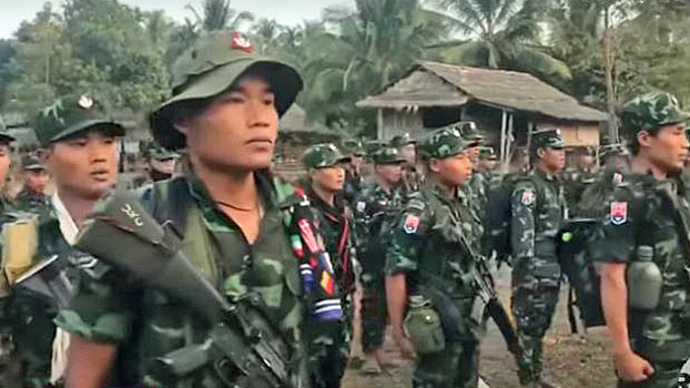 Fighting, Food Shortages Stalk Civilians Displaced in Myanmar's Rakhine,  Kayin States — Radio Free Asia
