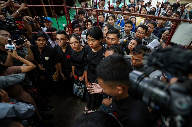 Democracy Icon's Myanmar Holds 'Not a Small Number' of Political Prisoners