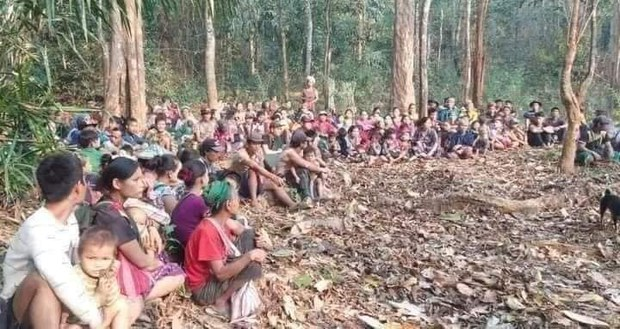 More Than 10,000 Displaced by Renewed Fighting in Myanmar's Battle-Ravaged Chin State
