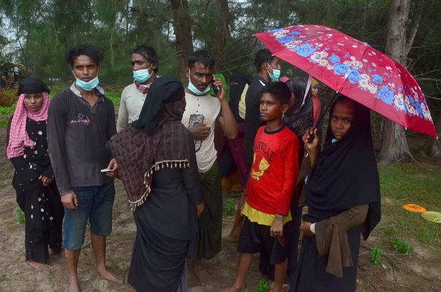 Boat With 81 Rohingya Lands in Indonesia After Months at Sea