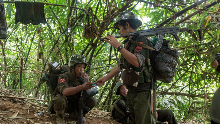 Thousands flee fresh fighting in northern Myanmar
