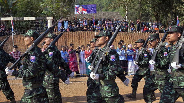 Karen Villagers Urge Myanmar Army to Withdraw Troops From Hpapun Township —  Radio Free Asia