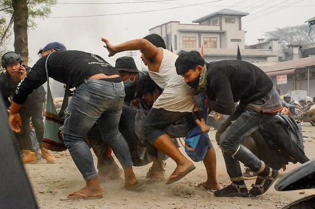 Myanmar Soldiers Burn Man Alive in Weekend Orgy of Junta Violence