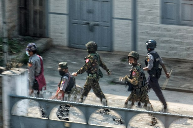 Lonely 'Tatmadaw Day' for Myanmar's Unloved Armed Forces