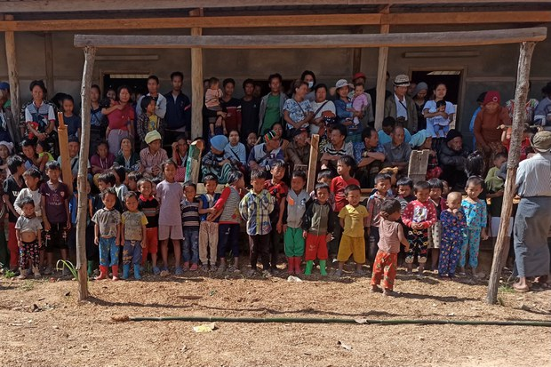 Myanmar's Military Blocks Supply Routes to 50,000 Refugees in Chin State Amid Renewed Fighting