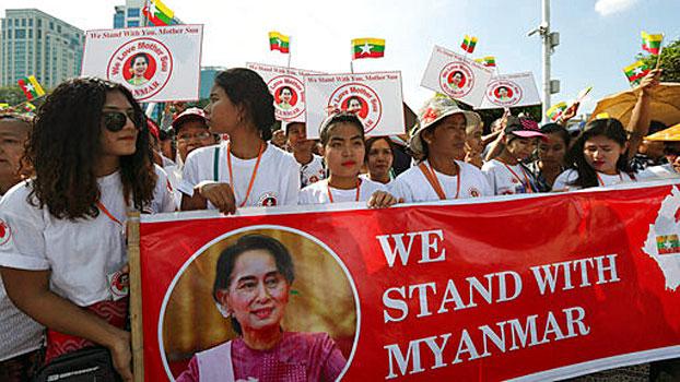 Processo contro la Birmania
