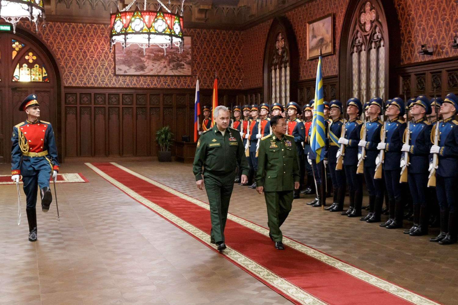 Myanmar Junta Chief Visit to Moscow Seen as Shoring of Support Amid Condemnation For Coup