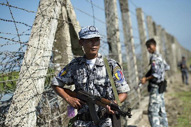Myanmar Authorities Build New Border Guard Stations In