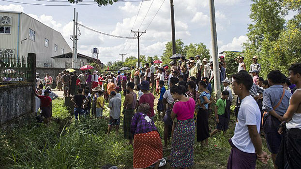 Myanmar Garment Workers Remain on Strike Over Abuses in Chinese