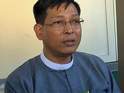 Zaw Htay, director-general of State Counselor's Aung San Suu Kyi's office, in an undated photo.