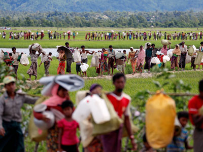 India wants safe, sustainable Rohingya repatriation