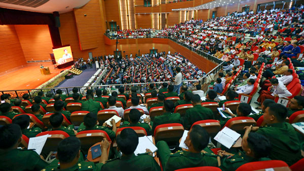 myanmar opens new round of delicate peace talks with ethnic armies