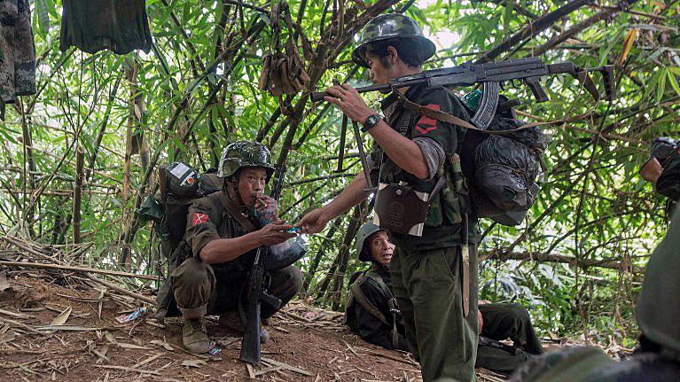 New Clash Between Ethnic Militia And Myanmar Troops Begins ...