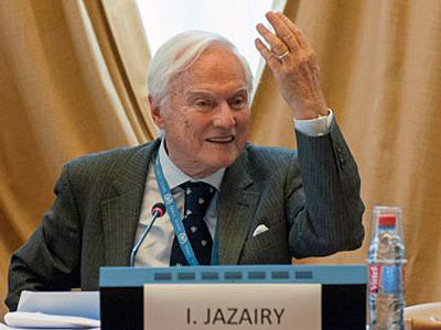 Ambassador Idriss Jazairy, executive director of the Geneva Centre for Human Rights Advancement and Global Dialogue, in an undated photo.