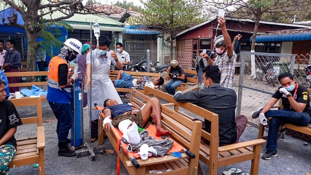 Two Protesters Shot Dead in Mandalay in Bloodiest Day Since Myanmar Coup