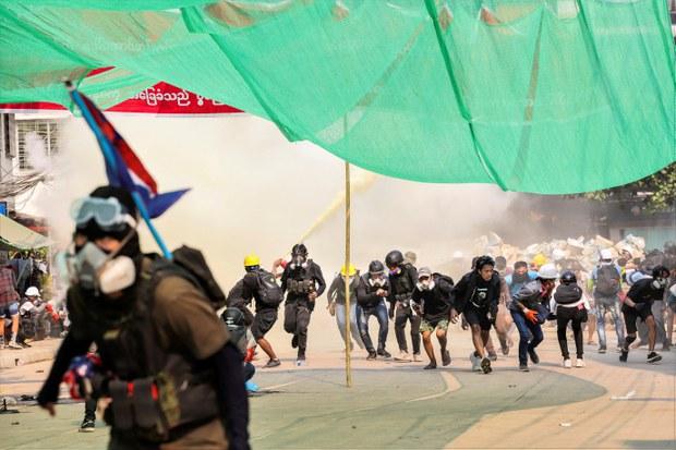 Civil Society and Student Groups in Rakhine State Denounce Myanmar Military Junta