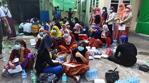 Yangon Police Arrest Nearly 100 Rohingya Being Trafficked From Myanmar to Malaysia