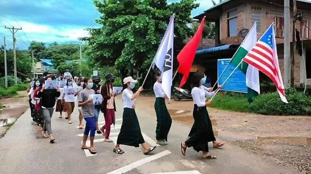 Myanmar's Students Sacrifice Books For Bullets in 'Fight For Future' Against Junta