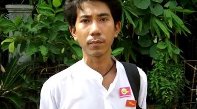 Kyaw Ko Ko, chairman of ABFSU, in an undated photo. Credit: RFA
