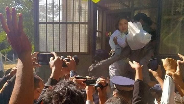 Myanmar Court Sentences Military Daughter for Supporting Ruling Party in Facebook Video