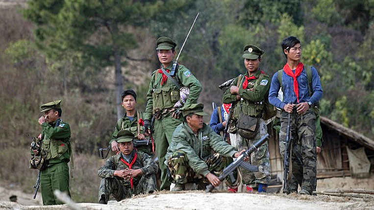 Myanmar journalists charged over visit with ethnic rebels