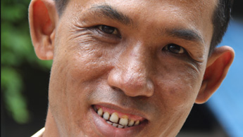 Former DR-TB patient Ko Min Naing Oo in an undated photo. Photo courtesy of MSF/McCall