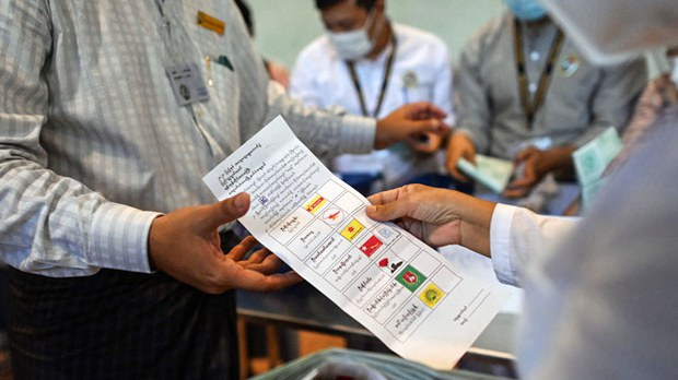 Few Serious Takers for Myanmar Junta's Election Commission Meeting