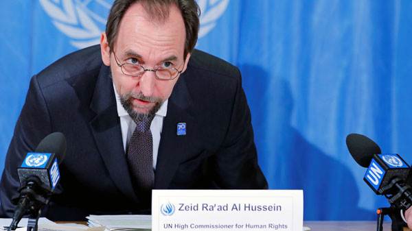 UN Rights Officials Call For Prosecution of Crimes Against