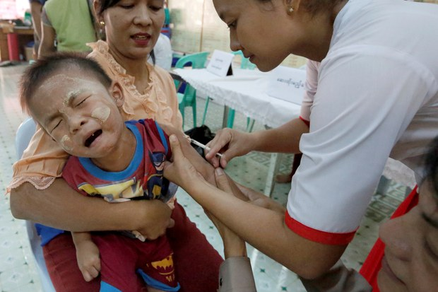 One Million Children Unvaccinated in Myanmar Amid Post-Coup Turmoil