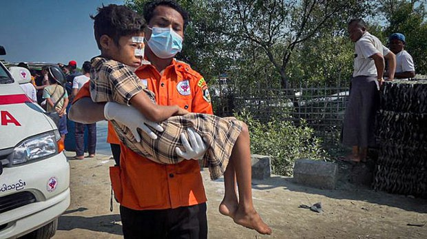 Two-Year-Old War in Myanmar's Rakhine Takes Toll on Children