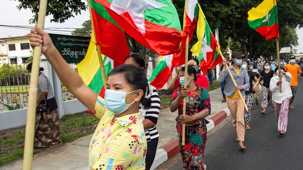 Myanmar Military Coup Talk Draws Concern From Western Embassies