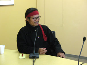 Tibetan activist and writer Tenzin Tsundue in Washington, March 14, 2007. Photo: RFA