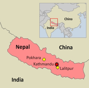Ballot boxes were confiscated in Kathmandu, but election officials said they saw no police interference with voting in Pokhara and Lalitpur. Credit: RFA