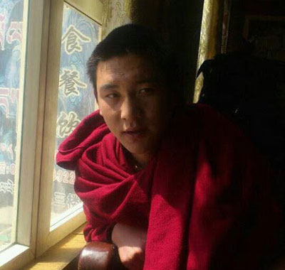 Lobsang Lungrik in an undated photo. Credit: RFA listener