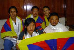 Jamyang Jinpa, Lobsang Gyatso, Gendun Gyatso, Kelsang Jinpa, Jigme Gyatso