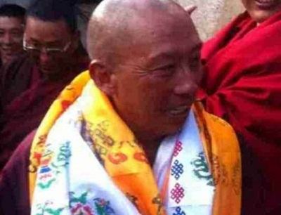 Gatruk Dorje is welcomed home after his May 24, 2014 release. Photo courtesy of an RFA listener.