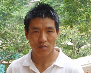 Tibetan filmmaker Dhondup Wangchen.