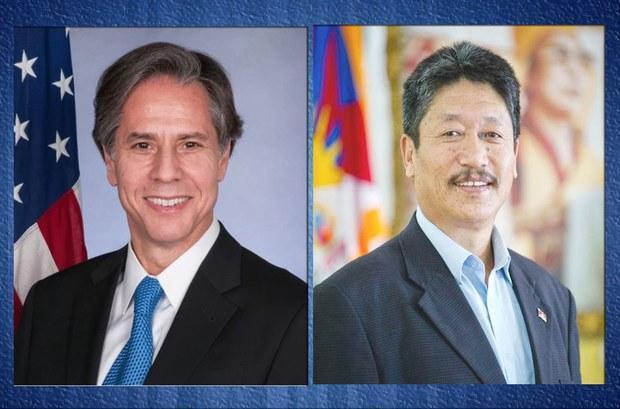 Blinken Meets Tibet Exile Government Representative in India