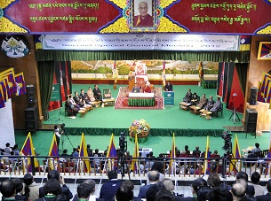 The second Tibetan Special General Meeting opens in Dharamsala, India on Sept. 25, 2012.