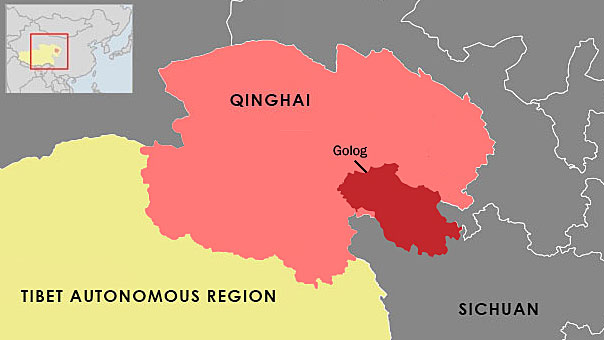 Lhasa China Map.Tibetan Pilgrim Disappears After Chinese Police Interrogation On Her