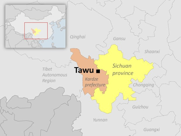 Police Crackdown Led to Tibetan Burning Protest in Sichuan