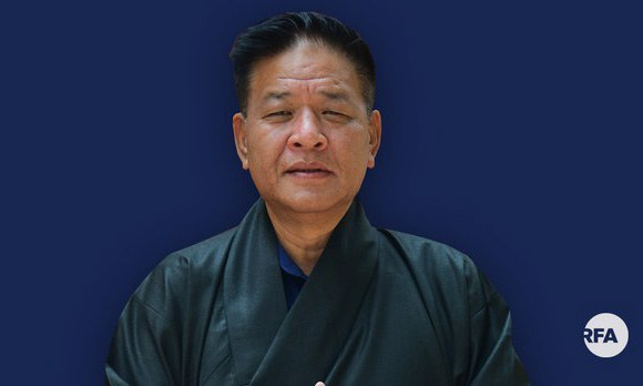 Penpa Tsering, projected winner in the 2021 election for Sikyong, Tibet's exile political leader, is shown in a file photo.