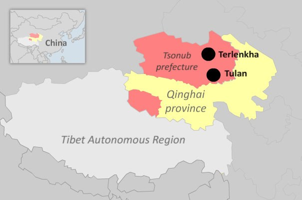 Map of Tsunob