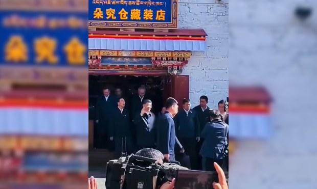 China's President Xi Jinping Makes Unannounced Visit to Tibetan Capital Lhasa